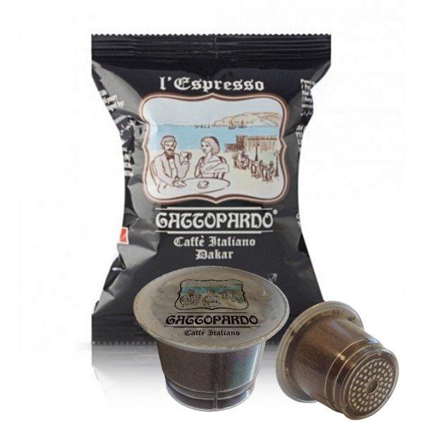 100 capsule caffè Gattopardo gusto Dakar compatibili Nespresso