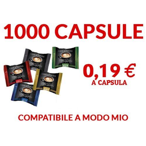 1000 Capsule compatibili A Modo Mio Borbone 190 euro