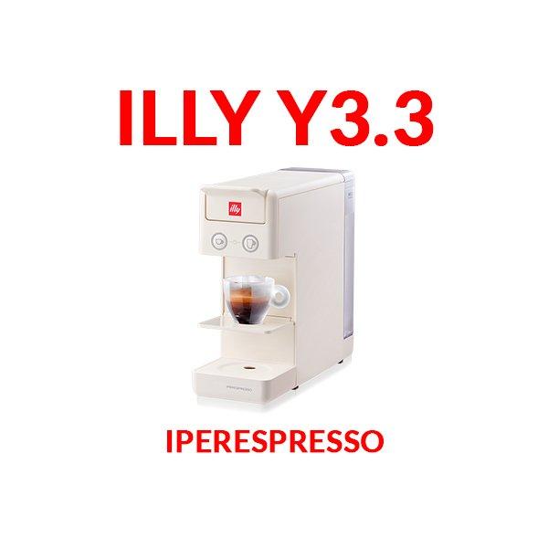 illy iperespresso y3.3 bianca