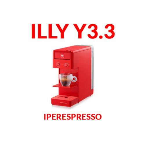 illy iperespresso y3.3 rossa