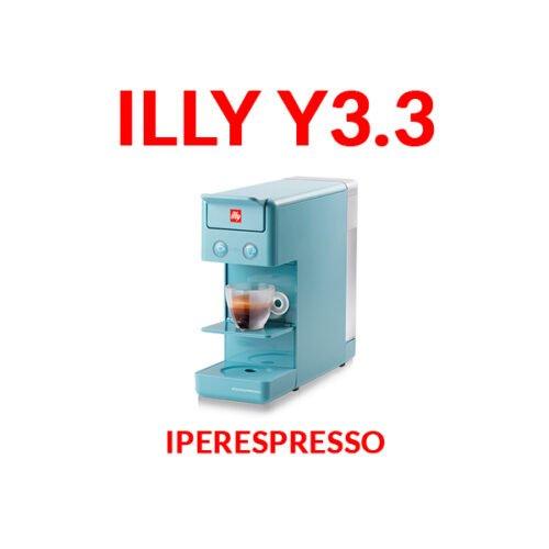 illy iperespresso y3.3 azzurra