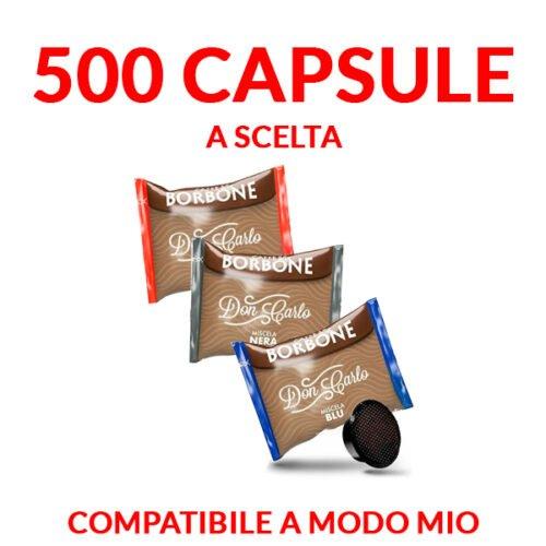promozione borbone don carlo a modo mio 500 capsule