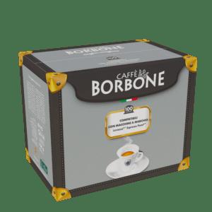 100 capsule caffè Borbone misscela Nera compatibili Espresso Point