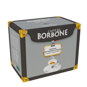 100 capsule caffè Borbone miscela Blu compatibili Espresso Point