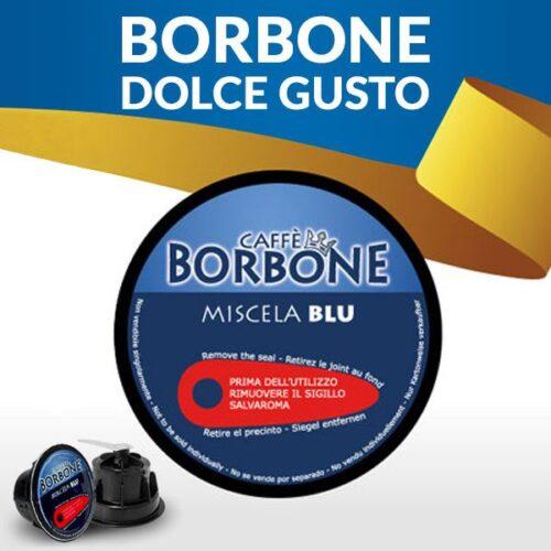 180 capsule caffè BORBONE BLU Compatibile Dolce Gusto