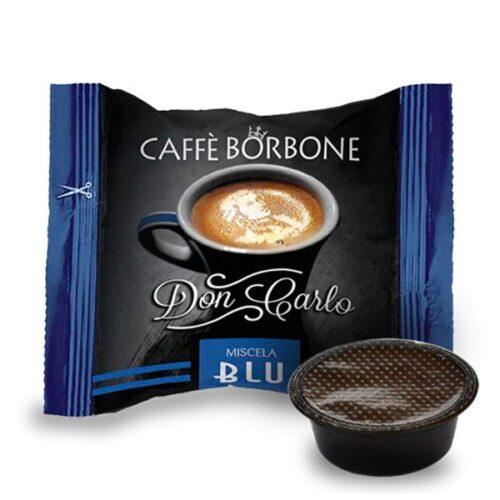 100 capsule Borbone Don Carlo Blu compatibili A Modo Mio