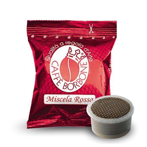 100 capsule caffè Borbone miscela Rossa compatibili Espresso Point