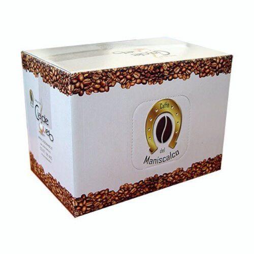 100 cialde Maniscalco Morbido Aroma compatibile Lavazza Espresso Point