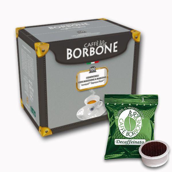 100 capsule caffè Borbone miscela Dek compatibili Espresso Point