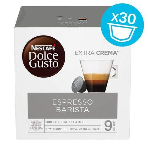 30 capsule Nescafe Dolce Gusto ESPRESSO BARISTA MAGNUM