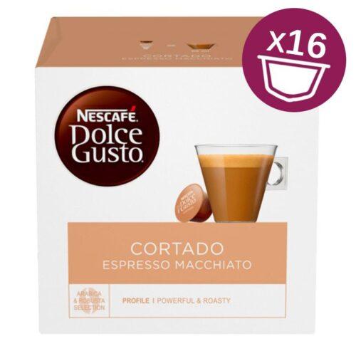 16 capsule Nescafe Dolce Gusto CORTADO