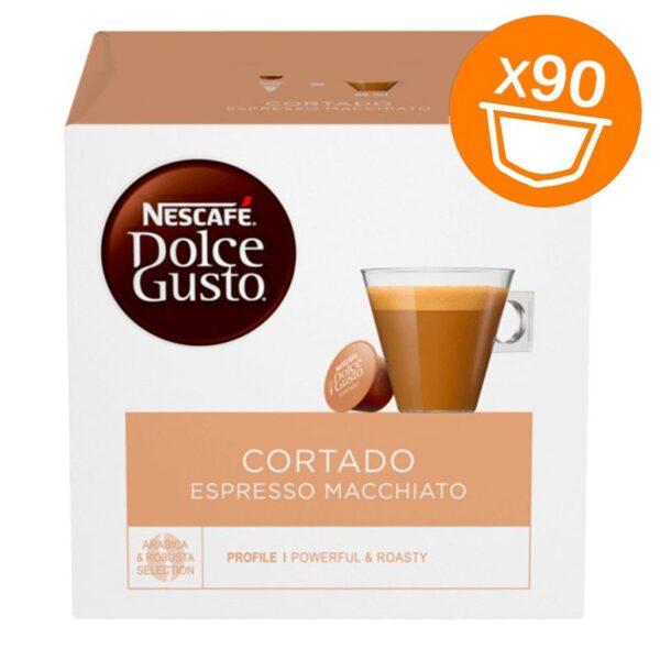 90 capsule Nescafe Dolce Gusto Cortado Magnum