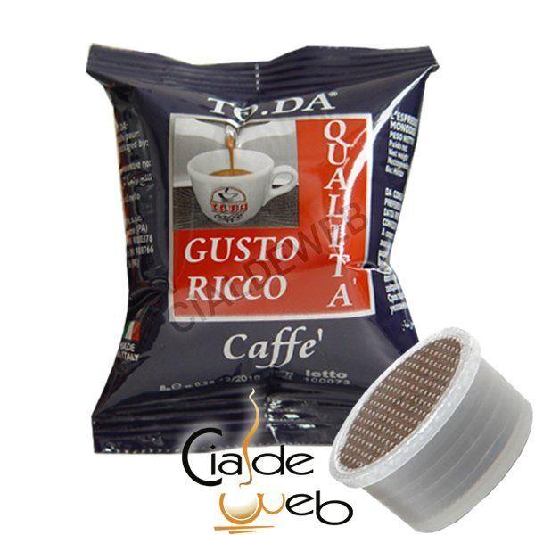 100 cialde caffè Toda Gattopardo Gusto Ricco Espresso Point