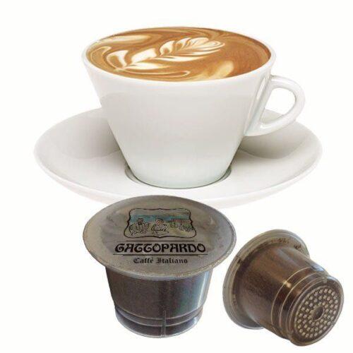 10 capsule Gattopardo Cappuccino compatibili nespresso