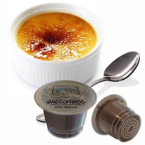10 capsule Gattopardo Creme Brulee compatibili nespresso