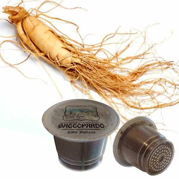 10 capsule Gattopardo Ginseng compatibili nespresso