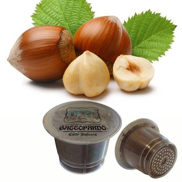 10 capsule Gattopardo Nocciolino compatibili nespresso