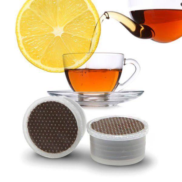 50 capsule Gattopardo Te' Limone compatibile Espresso Point
