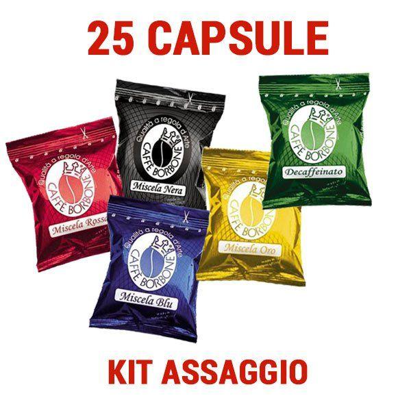 25 cápsulas mixtas Borbone compatible Espresso Point