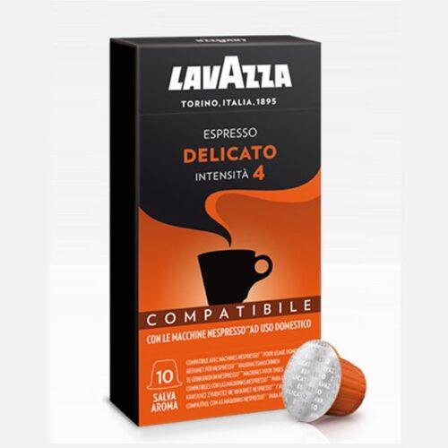 10 capsule caffè Lavazza Delicato compatibile Nespresso