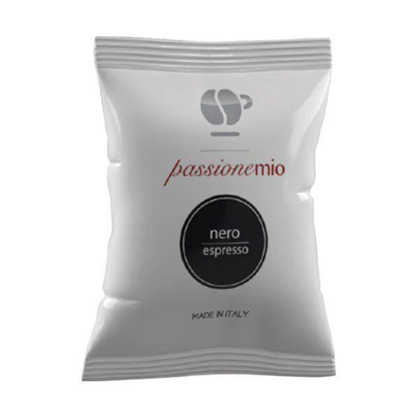 100 capsule Lollo caffè MISCELA NERA -COMPATIBILE A MODO MIO-