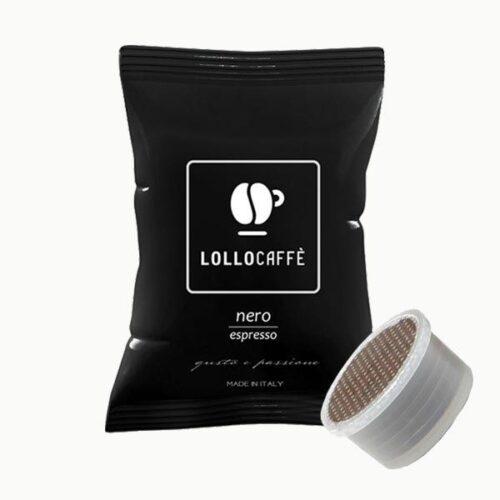 100 capsule Lollo caffè Miscela Nera compatibile Point