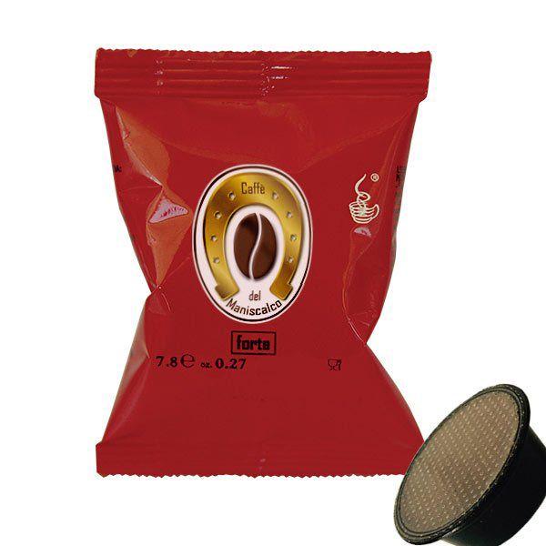 50 capsule caffè del Maniscalco Forte compatibili A Modo Mio