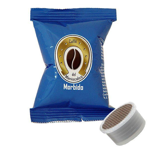 100 cialde Maniscalco Morbido Aroma compatibile Lavazza Espresso Point