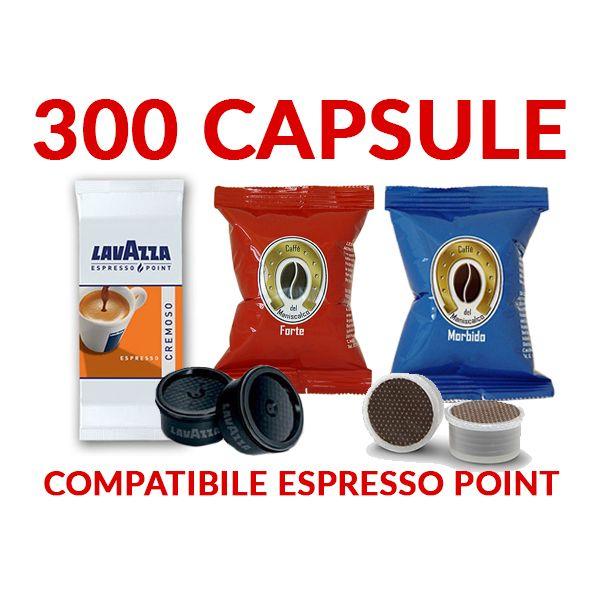 300 cialde caffè espresso point (100 Lavazza cremoso+ 200 caffè del Maniscalco)