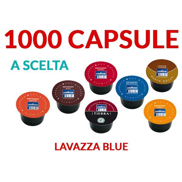1000 Capsule caffè LavAzza Blue - TRASPORTO GRATIS