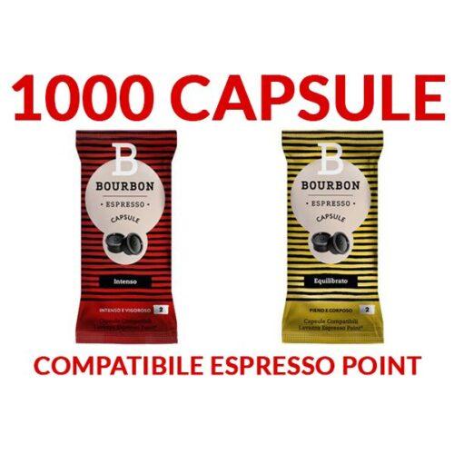 1000 Capsule LavAzza Bourbon 0,17 -TRASPORTO GRATIS-
