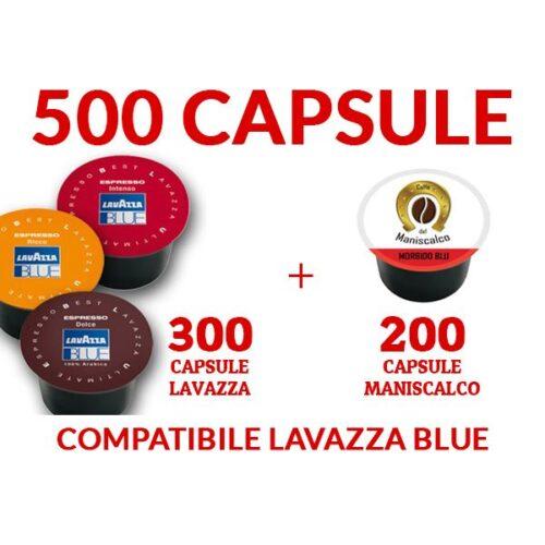 500 Cialde caffè LavAzza Blue e compatibili 99€