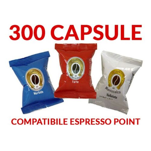 Capsule Caffè del Maniscalco compatibili Lavazza Espresso Point 0,17€
