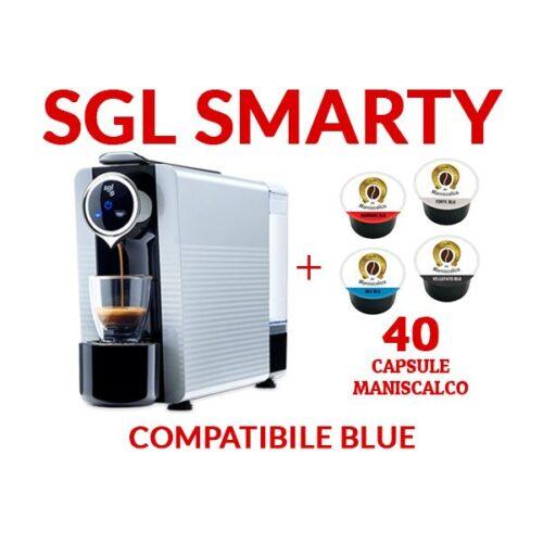 Macchina per Caffè SGL Flexy + 40 capsule Caffè del Maniscalco