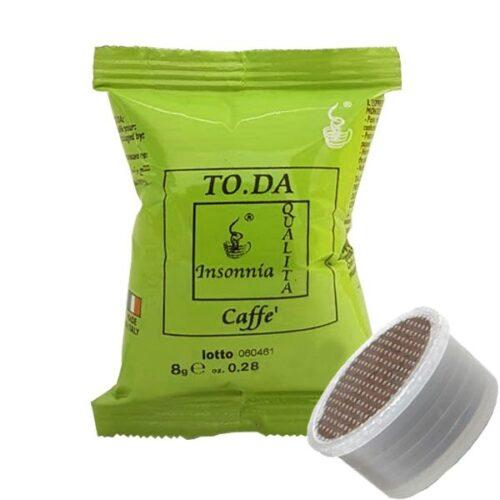 100 capsule caffè Toda Gattopardo INSONNIA compatibile Espresso Point
