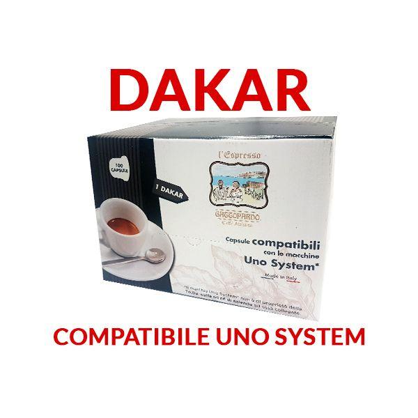 Dakar Gattopardo compatibili Uno System  100 cialde