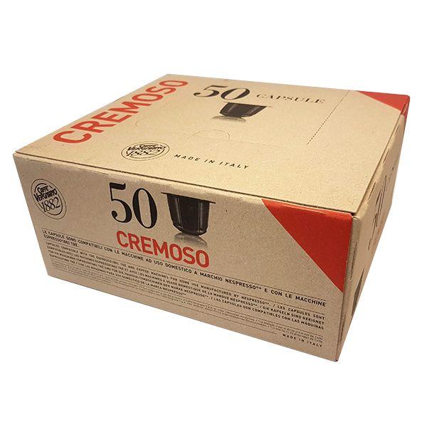 50 capsule caffè VERGNANO CREMOSO Compatibile Nespresso