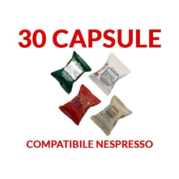 30 capsule Gattopardo caffe compatibili Nespresso