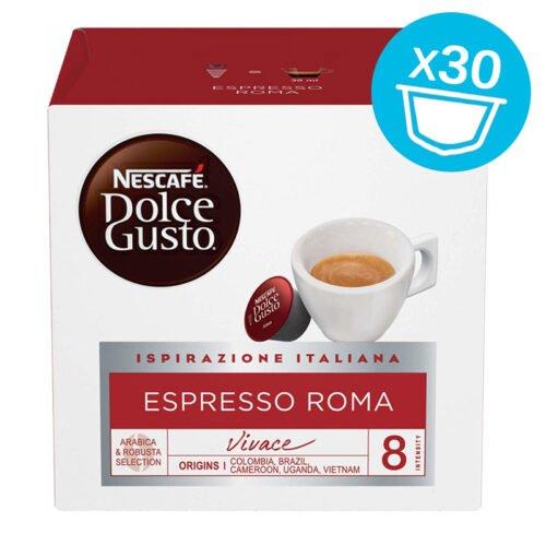 30 capsule Nescafe Dolce Gusto ESPRESSO ROMA