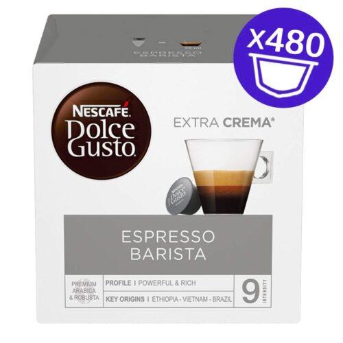 480 capsule Nescafe Dolce Gusto ESPRESSO BARISTA