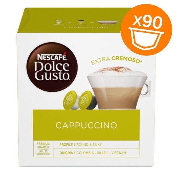 90 capsule Nescafe Dolce Gusto Cappuccino Magnum