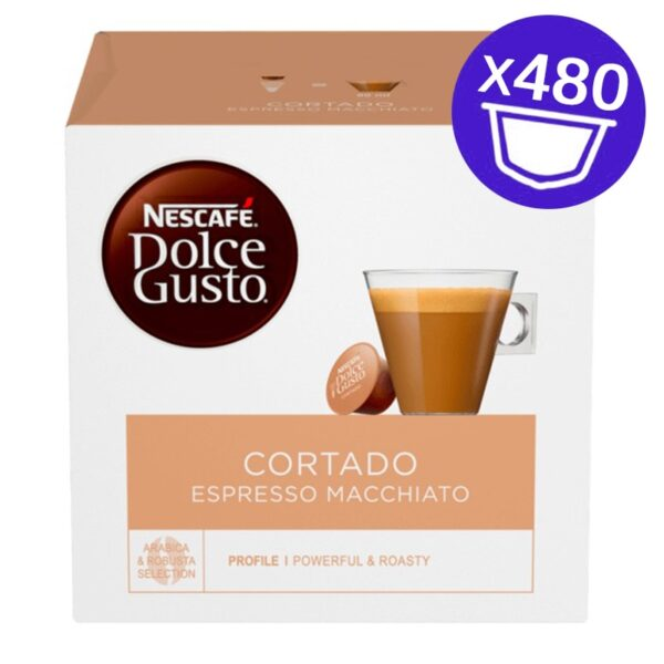480 capsule Nescafe Dolce Gusto Cortado