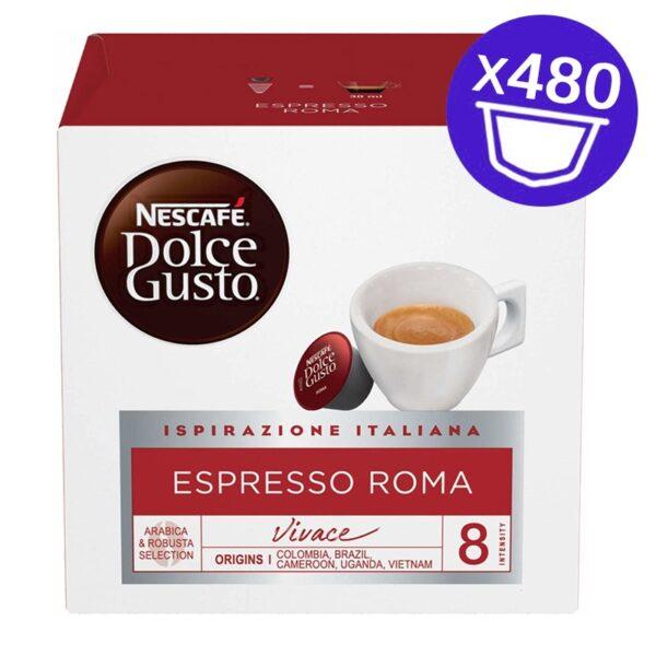 480 capsule Nescafe Dolce Gusto ESPRESSO ROMA