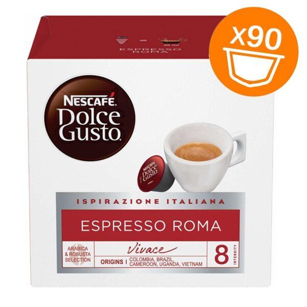 90 capsule Nescafe Dolce Gusto ESPRESSO ROMA