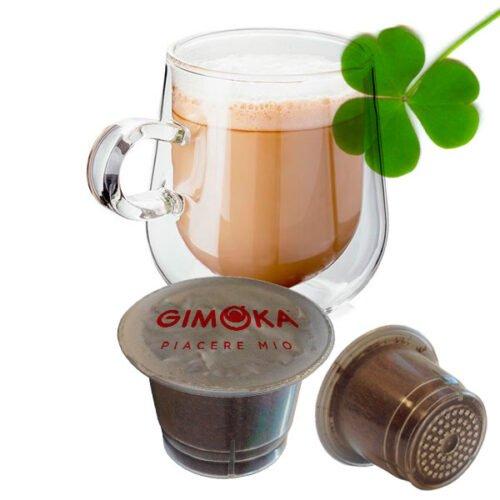 10 capsule Gimoka gusto Irish Coffee compatibili Nespresso