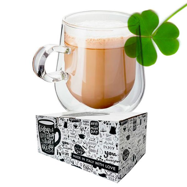 Box 10 capsule Gimoka gusto Irish Coffee compatibili Nespresso