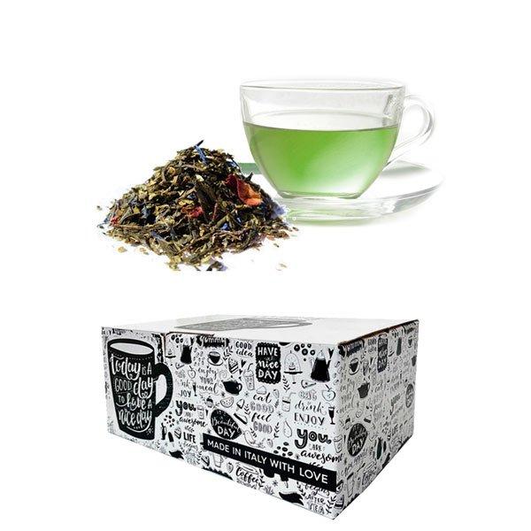 Box 10 capsule The verde Tuareg Gimoka compatibili nespresso