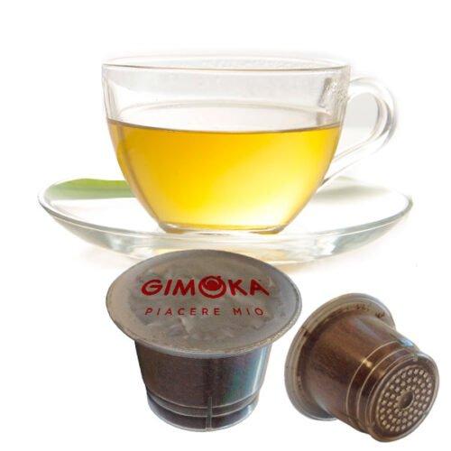 10 capsule Tisana Dicegtiva Gimoka compatibili Nespresso