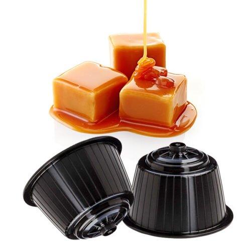 16 capsule Gimoka gusto Caramello compatibili Dolce Gusto