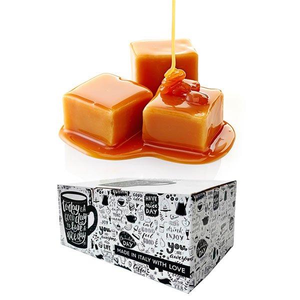 Box 16 capsule Gimoka gusto Caramello compatibili Dolce Gusto